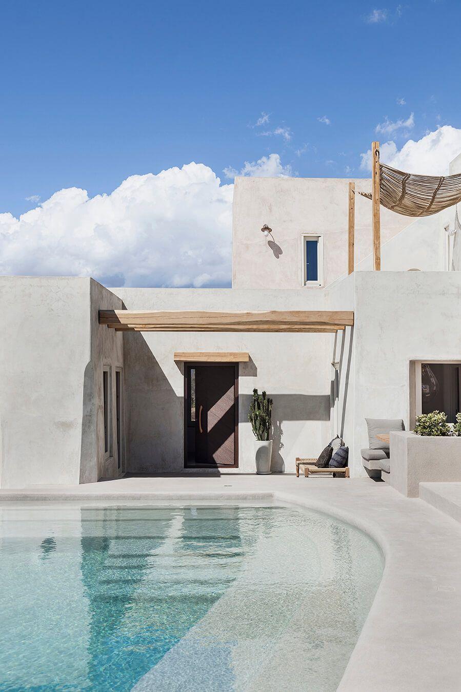 15 Compelling Contemporary Exterior Designs Of Luxury Homes You Ll Love: Mediterranean Style, House, Mykonos Villas