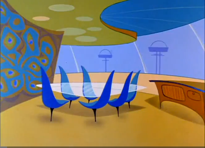 Image result for the jetsons dining room
