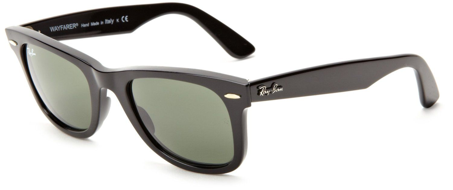 f4a25670969a2 Amazon.com  Ray-Ban RB2140 Original Wayfarer Sunglasses 50 mm