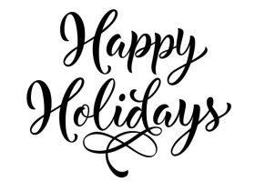 Happy Holidays Png Pic Happy Holidays Png Image With Transparent Background Png Free Png Images Holiday Lettering Holiday Clipart Lettering