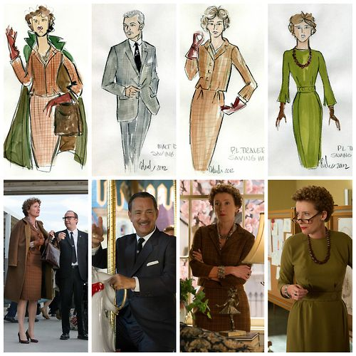 great looks for mrs spencer? (i think maybe more so the right hand images than the left, I feel like mrs spencer wouldn't wear a sort of glamorous caplet.)