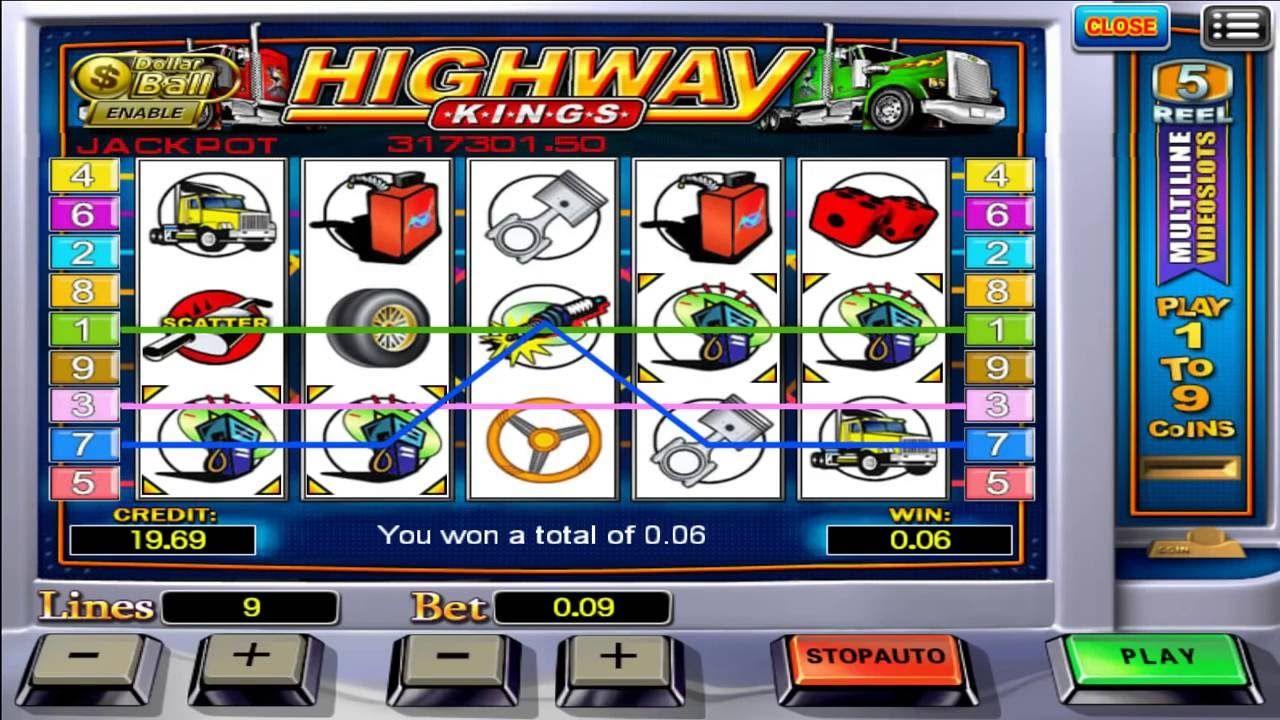 Playon88 Malaysia Online Casino Highway King Slot Game Big Win