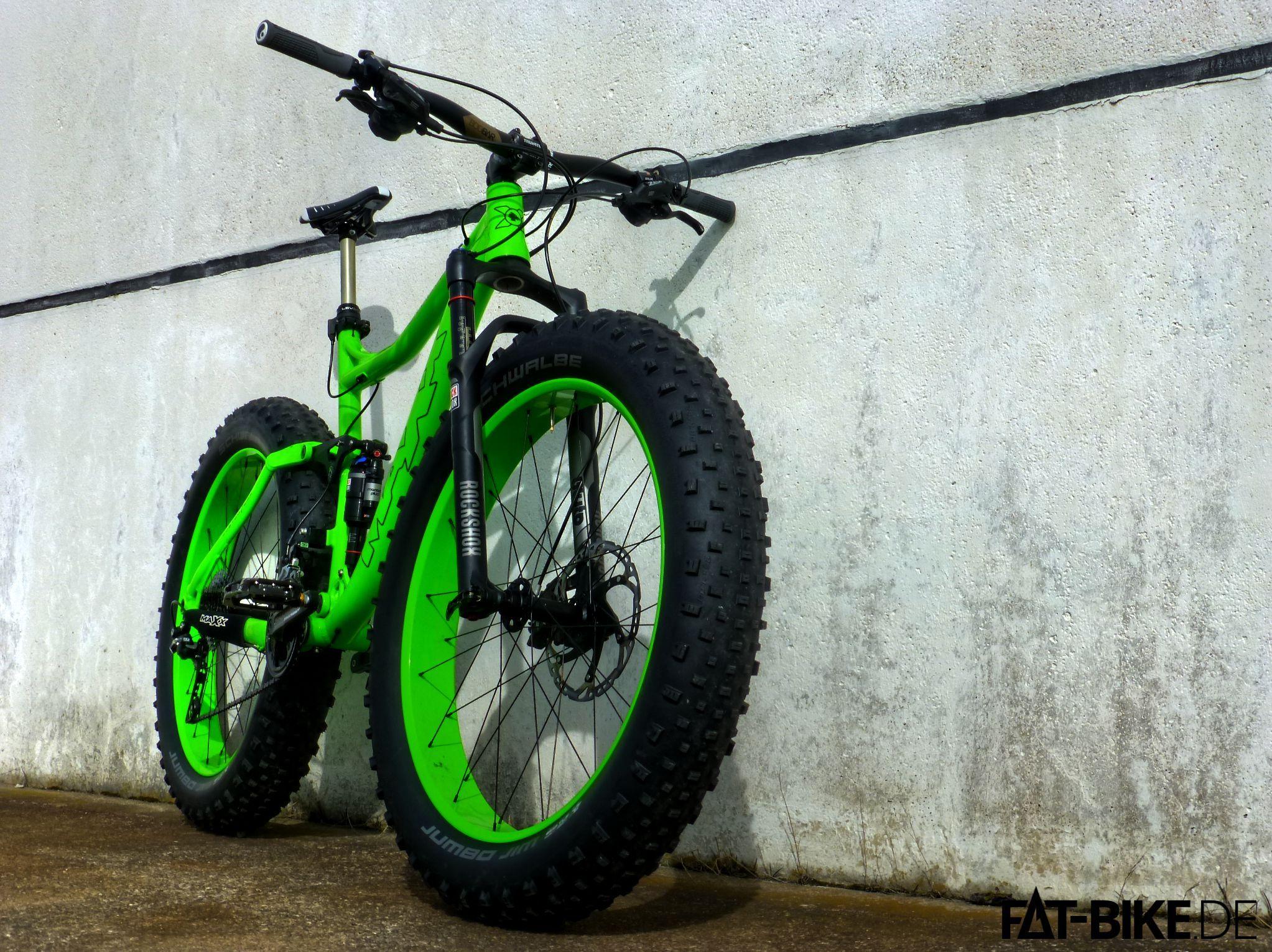 Hat eine Weile gedauert, aber hier ist das leichte FATBike Fully!   Fahrrad  fahren, Fahrrad, E mountain bike