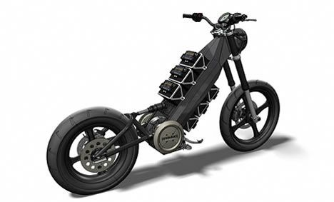 Enertia Electric Motorcycle To Hit Stores In Early 2008