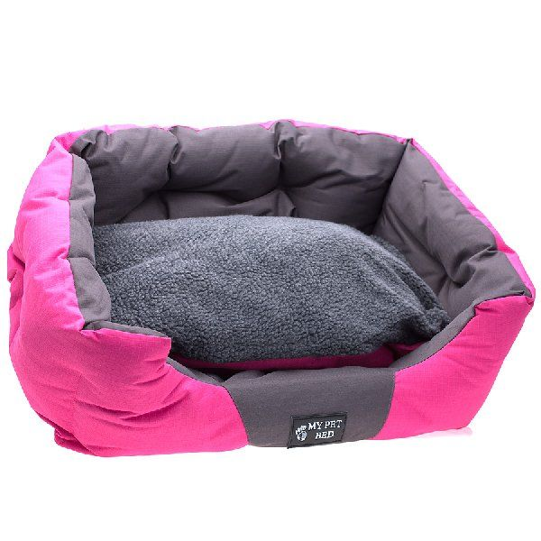 RSPCA World for Pets Pet Bed Oval Pink Small