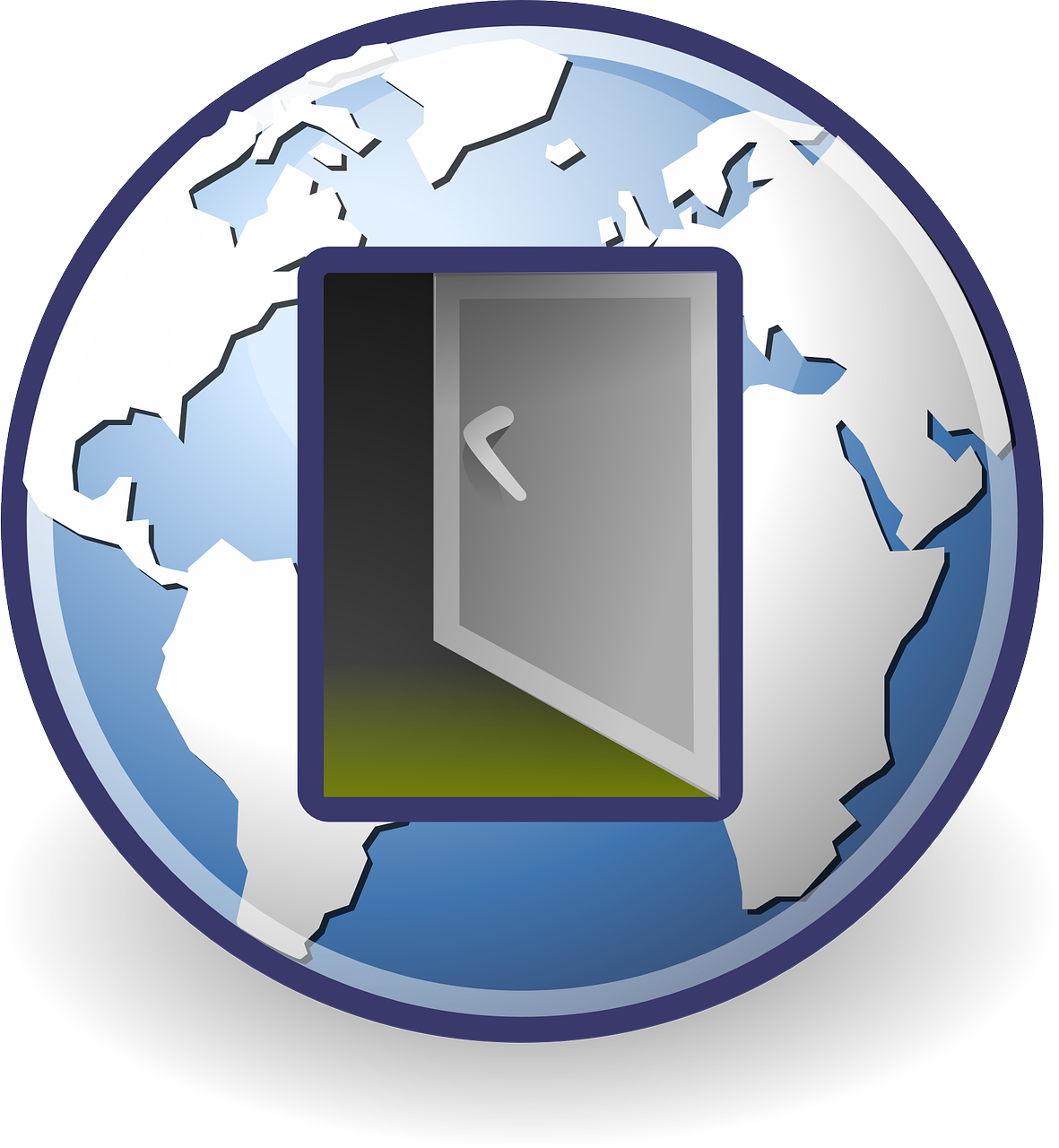 Network Exit Logout Sign Off transparent image Blocking