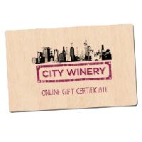 City Winery Gift Card | Live Music Atlanta