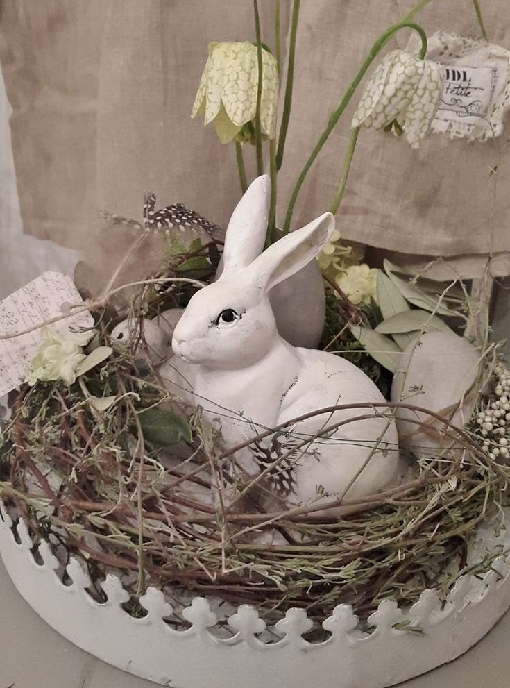 Photo of Beautiful Easter wreath wreath table decoration Easter Easter decoration spring decoration shabby chic … – Tanja LaBue – I follow