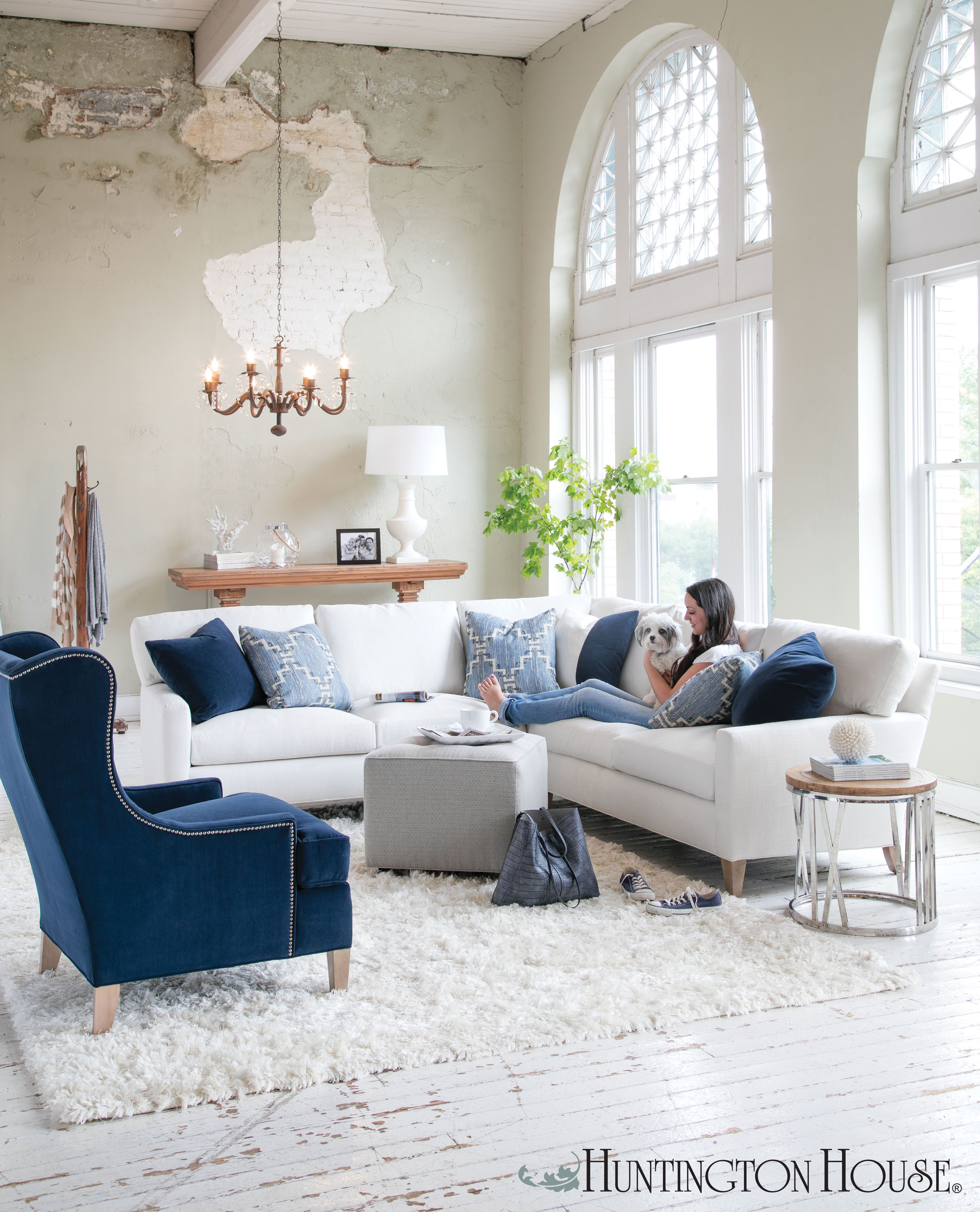 You Can Finally Have That White Sofa Using Soft Stain Resistant Crypton Home Fabrics From Huntingt White Sofa Living Room Living Room Sofa White Fabric Sofa
