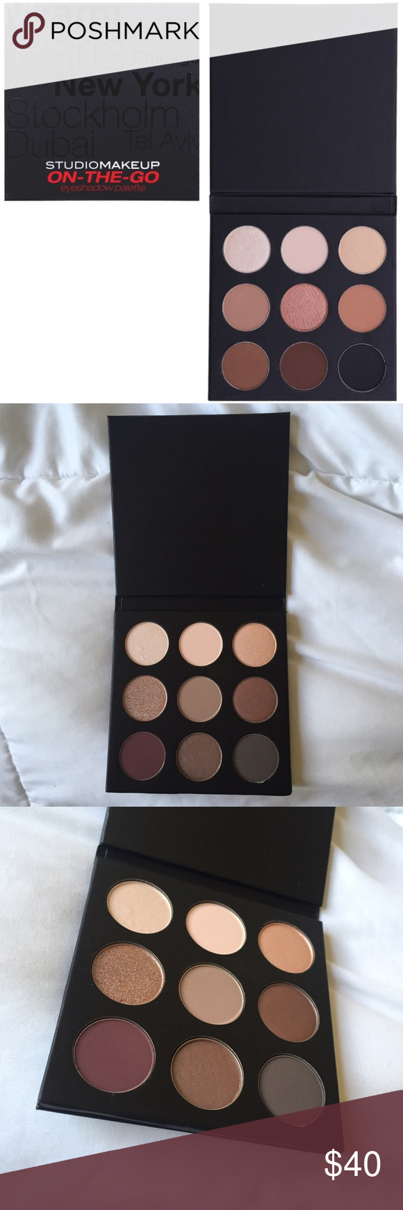 BNWT Studio Makeup Eyeshadow Palette Studio Makeup OnThe