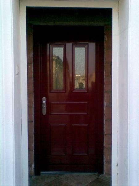 Puerta acorazada mod forstyl de fichet especial para - Puertas de aluminio con cristal ...