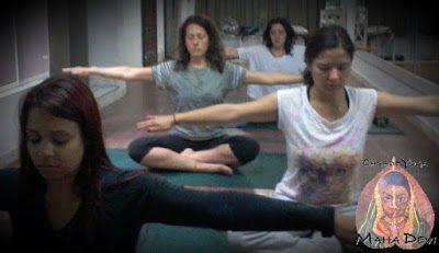 Como é o Yoga na Casa de Yoga Maha Devi