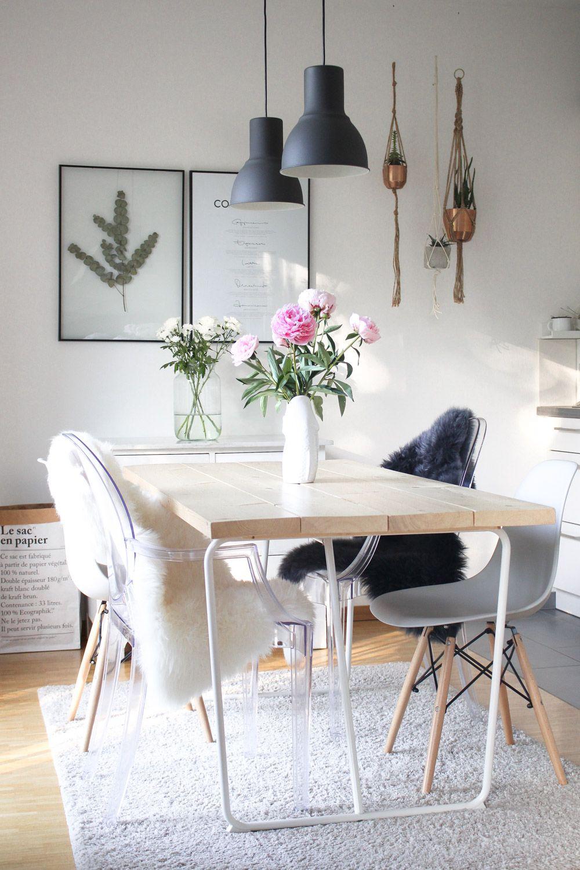 DIY: Esszimmertisch selber machen | Esszimmertisch, Einfache diy und ...