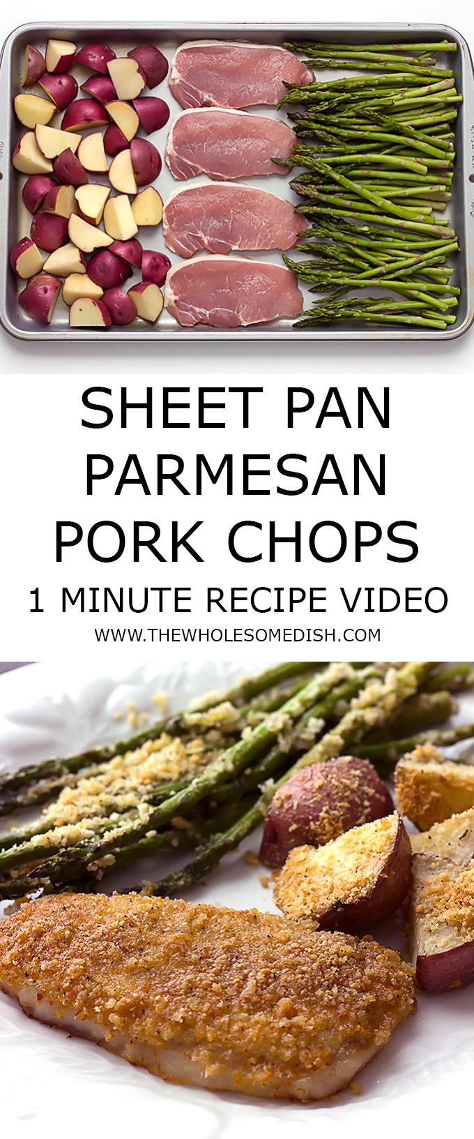 Watch this short video for my sheet pan baked pork chops potatoes watch this short video for my sheet pan baked pork chops potatoes asparagus recipe diy parties events and holidays pinterest baked pork chops forumfinder Image collections