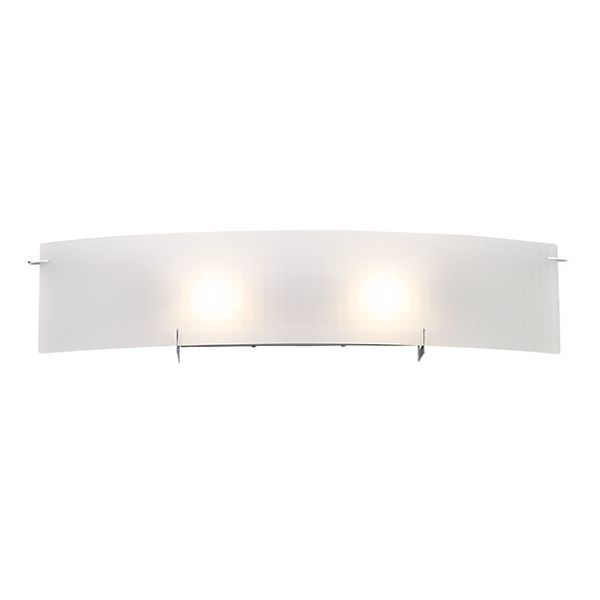 Soho Checkered Glass 32 1/4-Inch-W Possini Euro Bath Light
