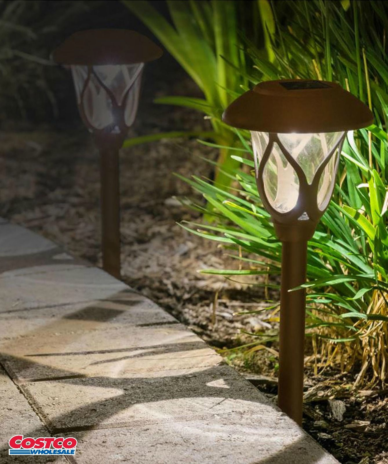 Smartyard Small Led Pathway Lights 6 Pack Outdoor Patio
