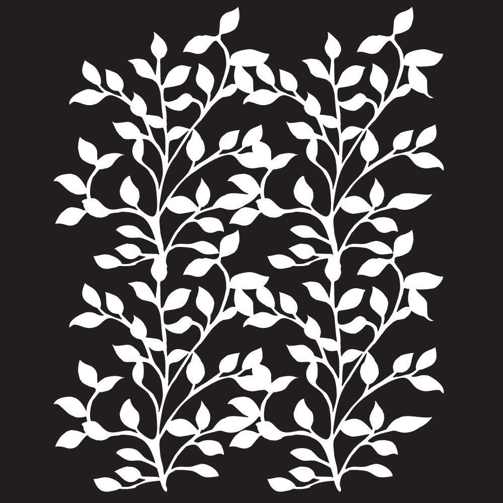 Folkart Climbing Vine Painting Stencils 4374 At The Home Depot