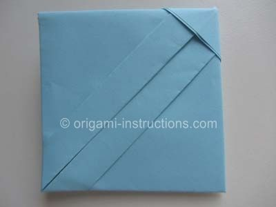 Origami Square Letter Fold  Diy Envelopes    Origami