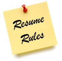 Delightful Working On Your Here Are The Rules To Writing A Top Notch Resume!