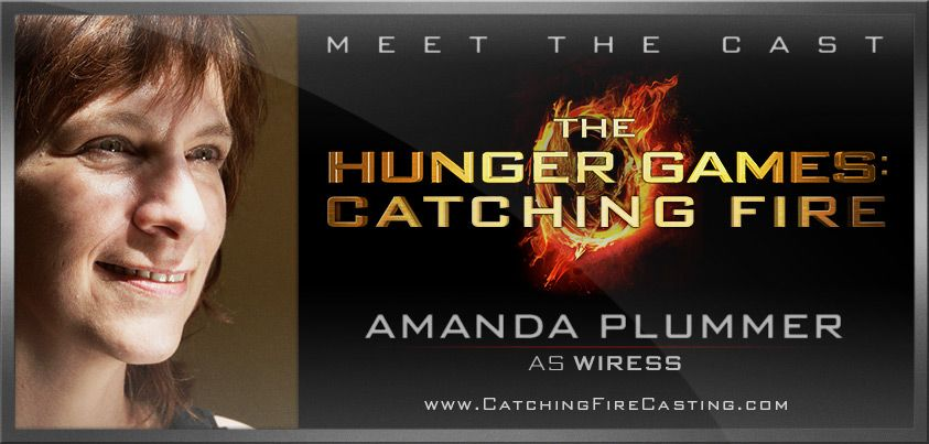 It's official! Please, welcome Amanda Plummer as Wiress to the cast of The Hunger Games: Catching Fire!