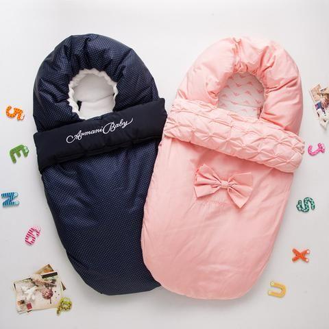 d486ead324d2 зимний спальный мешок для коляски хлопок конверт для сна новорожденных  девочек мальчиков sleepsacks