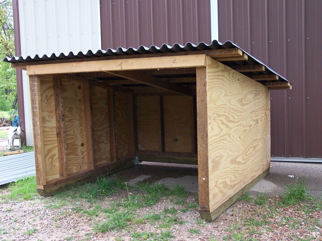 Diy Rabbit Shelter : We re remodeling a house in town some of the lumber was
