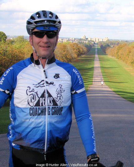 """Hunter Allen, author of """"Cutting-Edge Cycling"""". http://bit.ly/H6XOvW"""