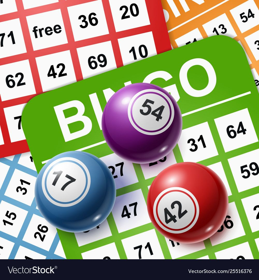 Bingo Balls On A Background Cards Royalty Free Vector Image Affiliate Background Cards Bingo Balls Ad Vector Free Lime Vector Free Vector Images