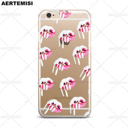info for f8d0a ed2a5 Phone Cases Kylie Jenner Lipstick Lip Cosmetics Clear TPU Case Cover ...