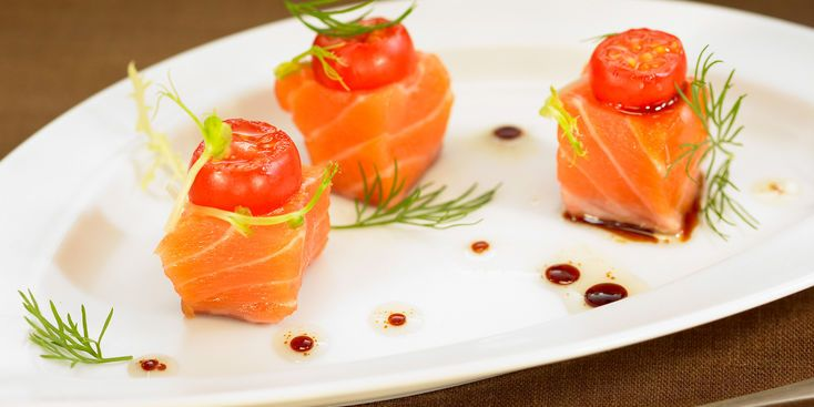 Amuse-Bouche tomate saumon - Recettes