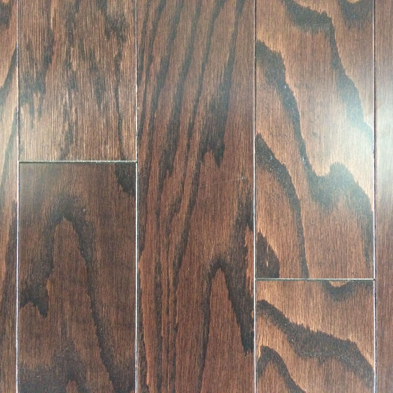 Level 1 Engineered Hardwood 3 1 4 Spokane Oak Coffee Bean Engineered Hardwood Liberty Home House Design