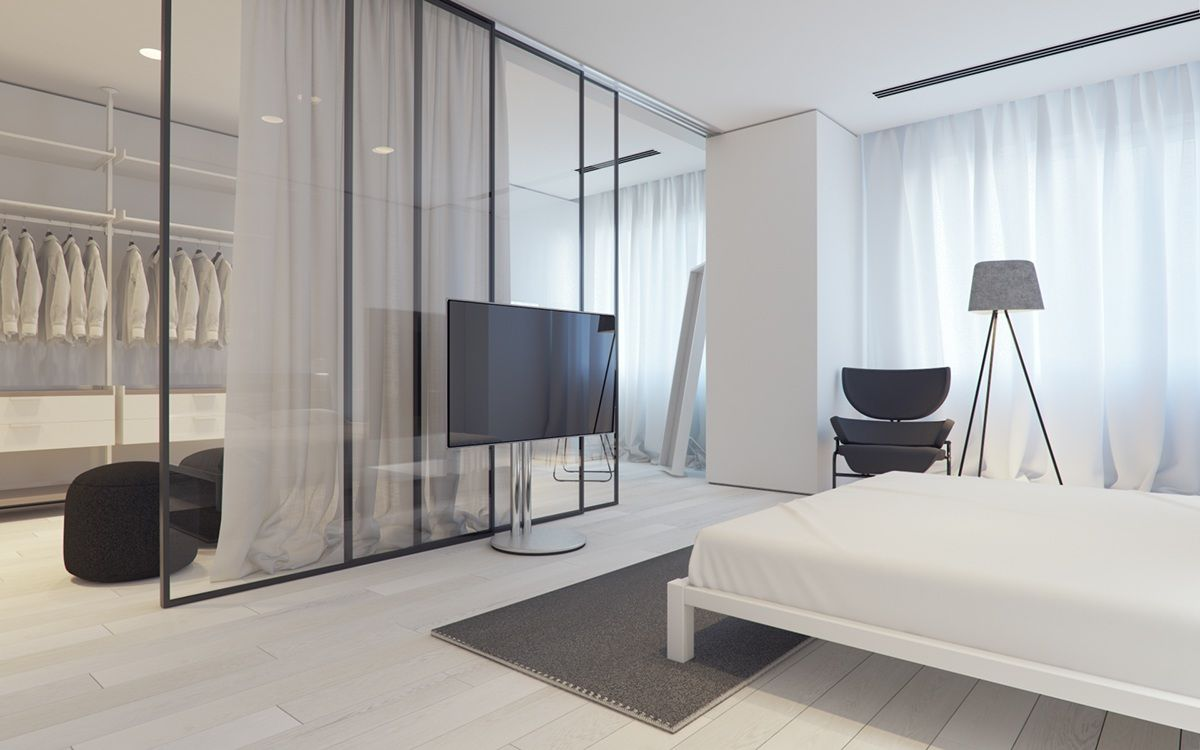 3 White Themed Homes With Striking Modern Minimalist ...