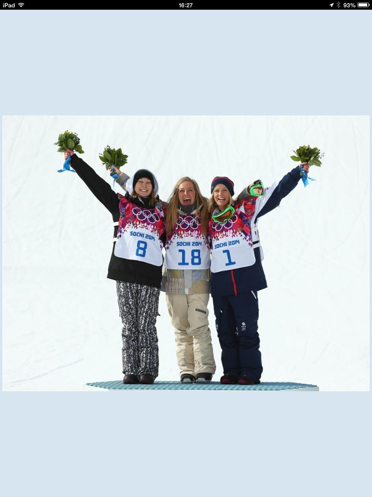 We'll done Jenny Jones.  Team GB's first medal on snow.