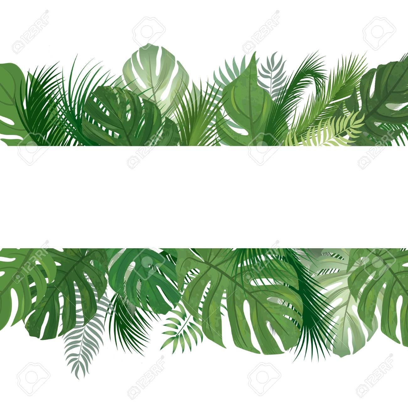 Floral Seamless Pattern Tropical Leaves Background Palm Tree Leaf Nature Border Affiliate Tropical Leaves Tropical Leaves Leaf Background Leaf Nature
