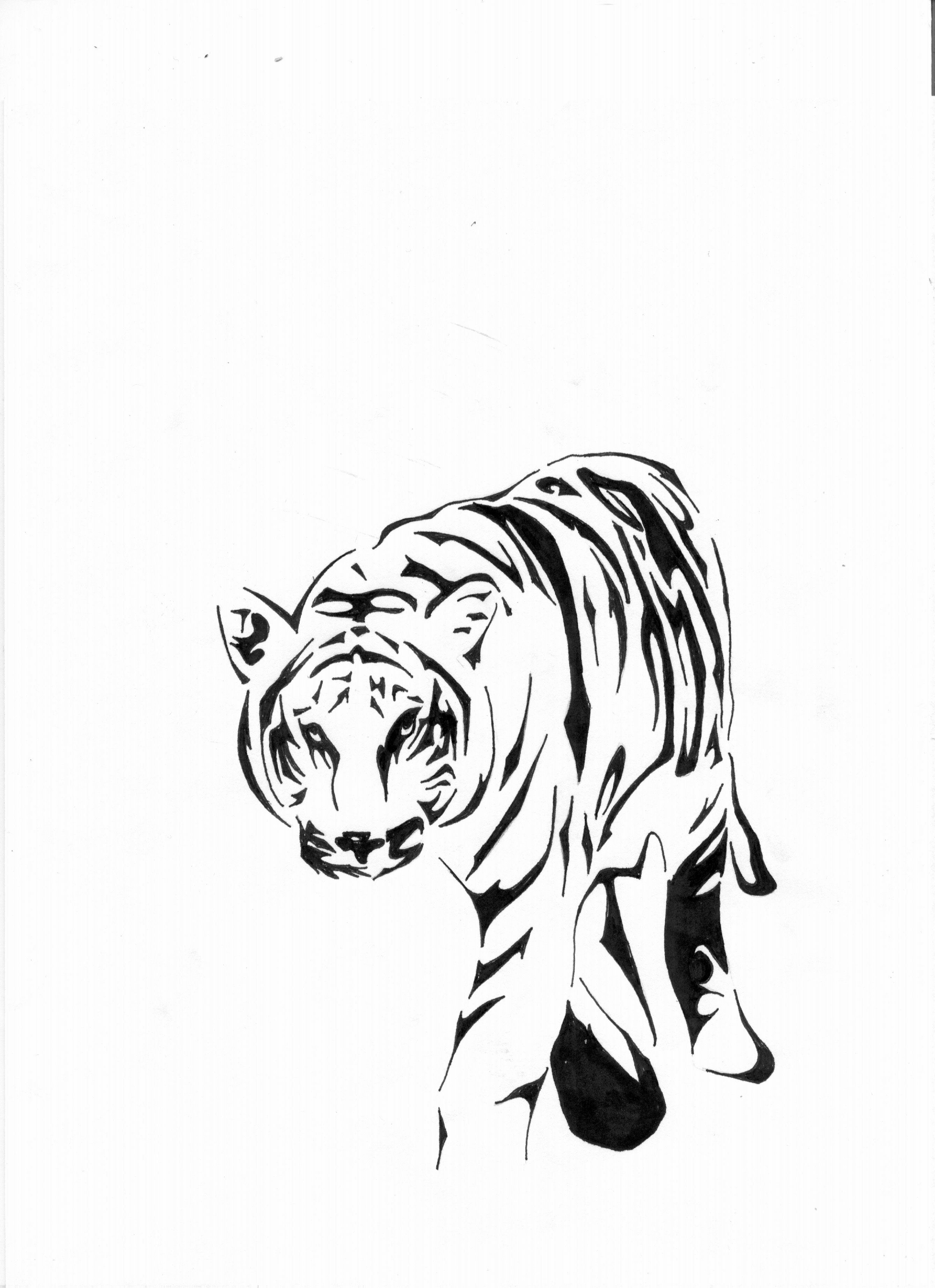 Tribal Tiger Tattoos Cool Tattoos Designs Tribal Tattoos ...