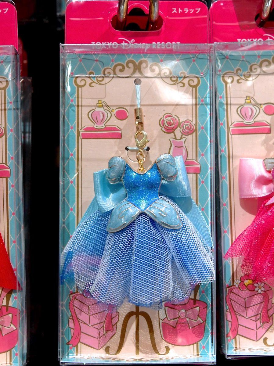 af538546c6fa6 シンデレラ ドレス ストラップ プリンセス グッズ お土産 東京ディズニーランド 東京ディズニーシー