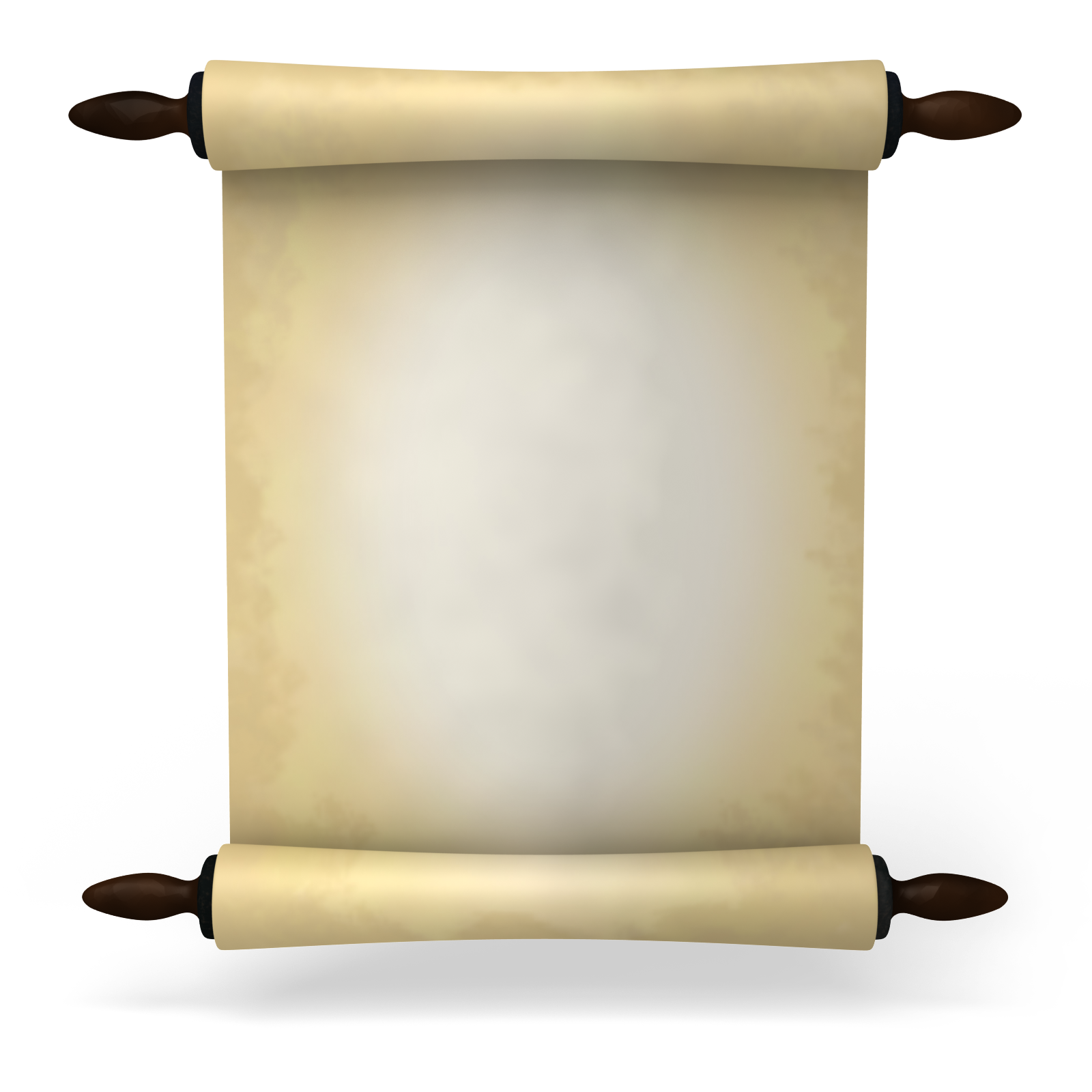 ancient scroll paper clipart