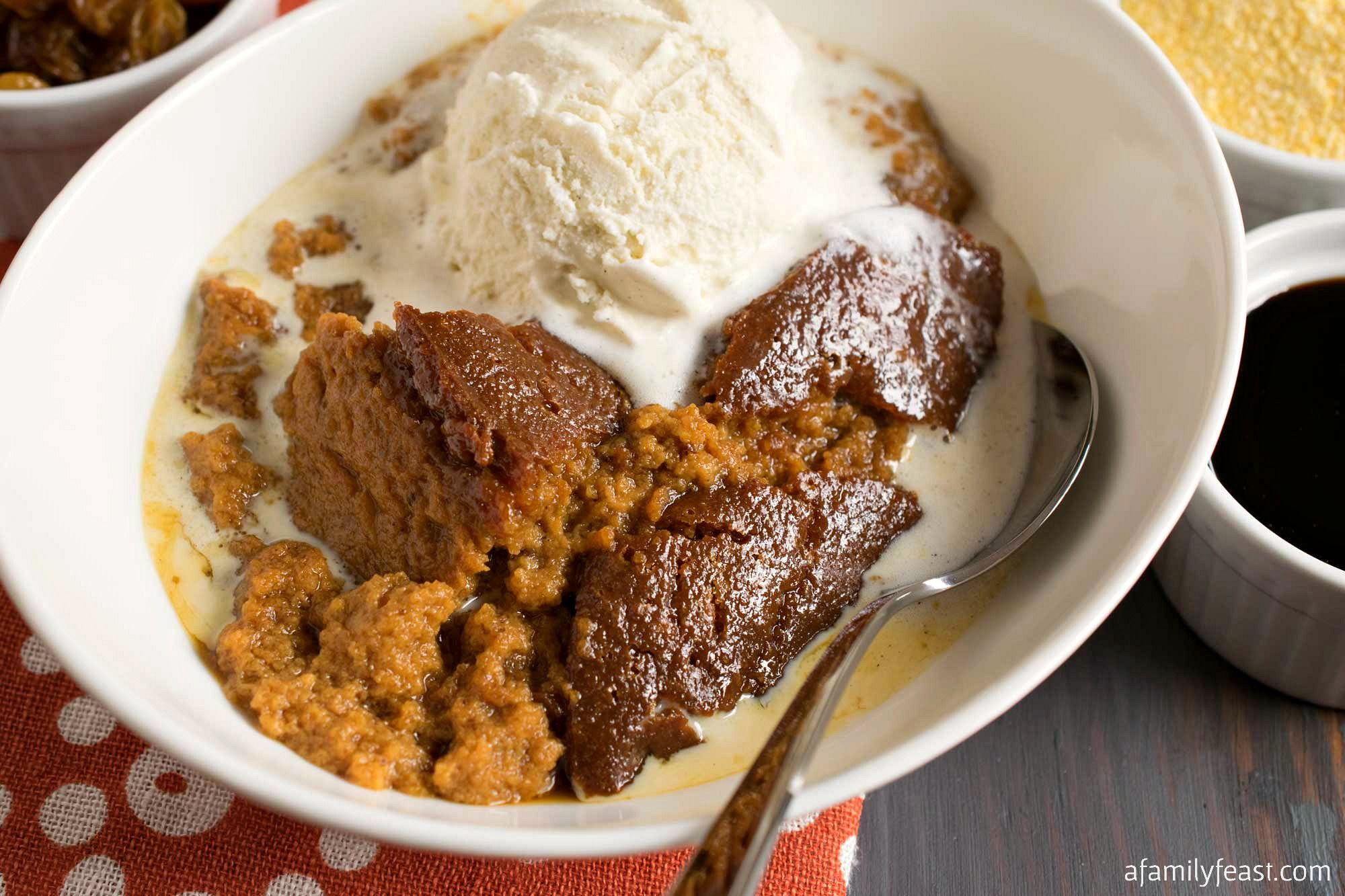 Indian Pudding Recipe Indian pudding, Indian pudding