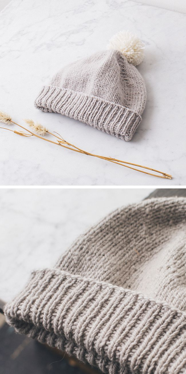 New Favorites: The perfect leftovers hat | knit | Pinterest | Gorros ...