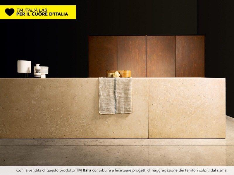 Versteckte Küche mit Kücheninsel PETRA by TM Italia Cucine