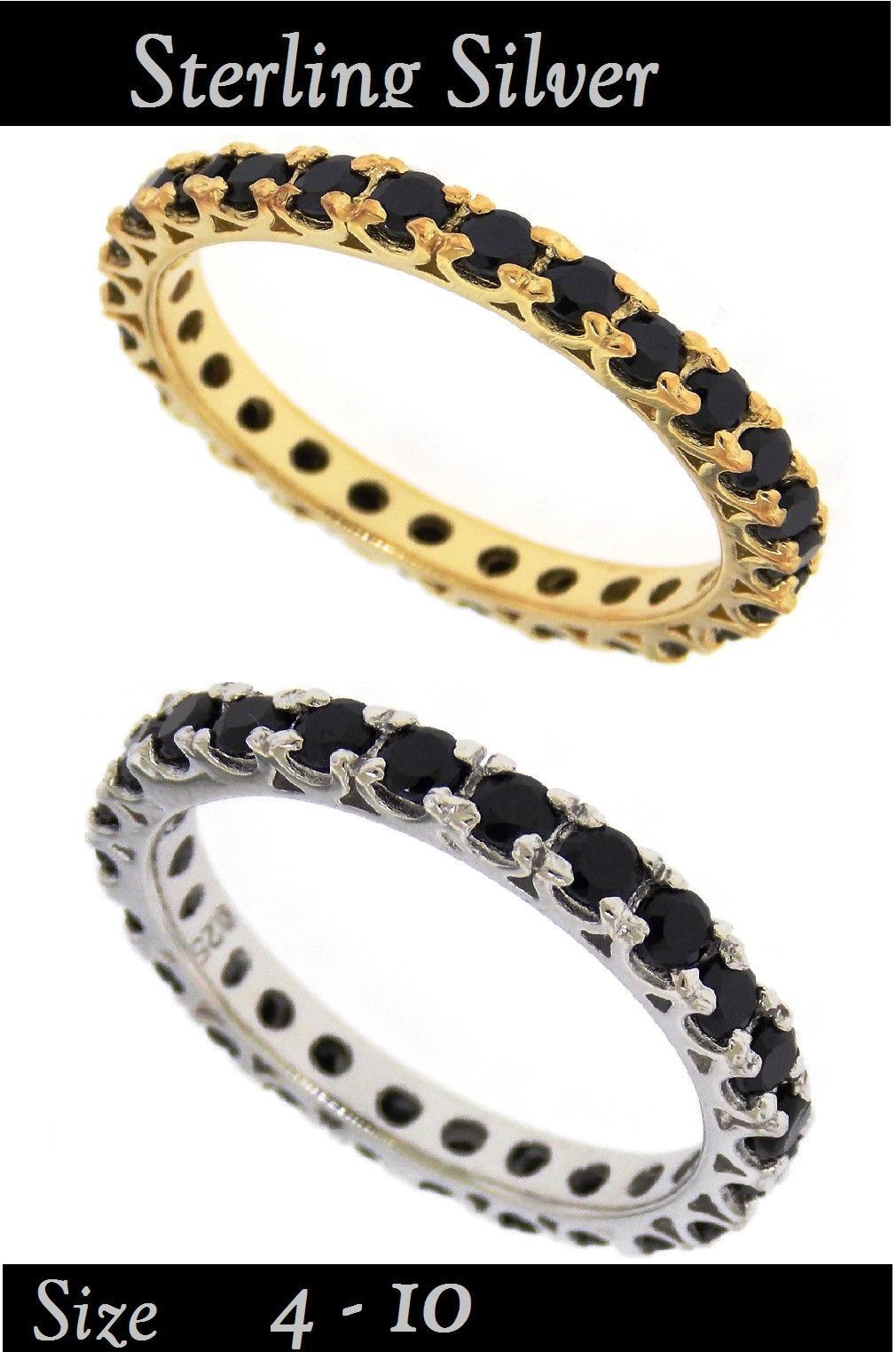 WIDOWS 3rd RING Plated Eternity Band Eternity bands