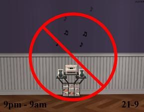 Mod The Sims - Stop turning on the stereo at night!