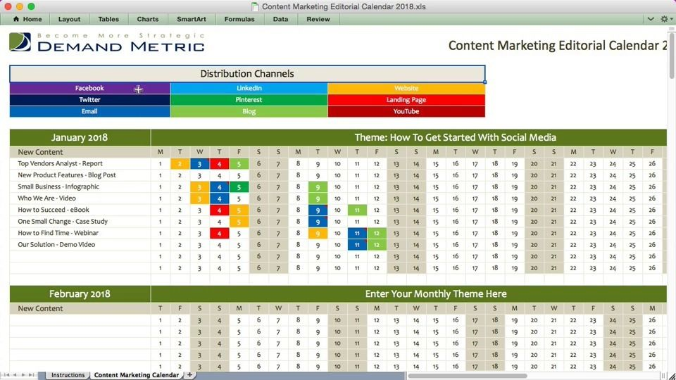 Wistia Video Thumbnail  Content Marketing Editorial Calendar