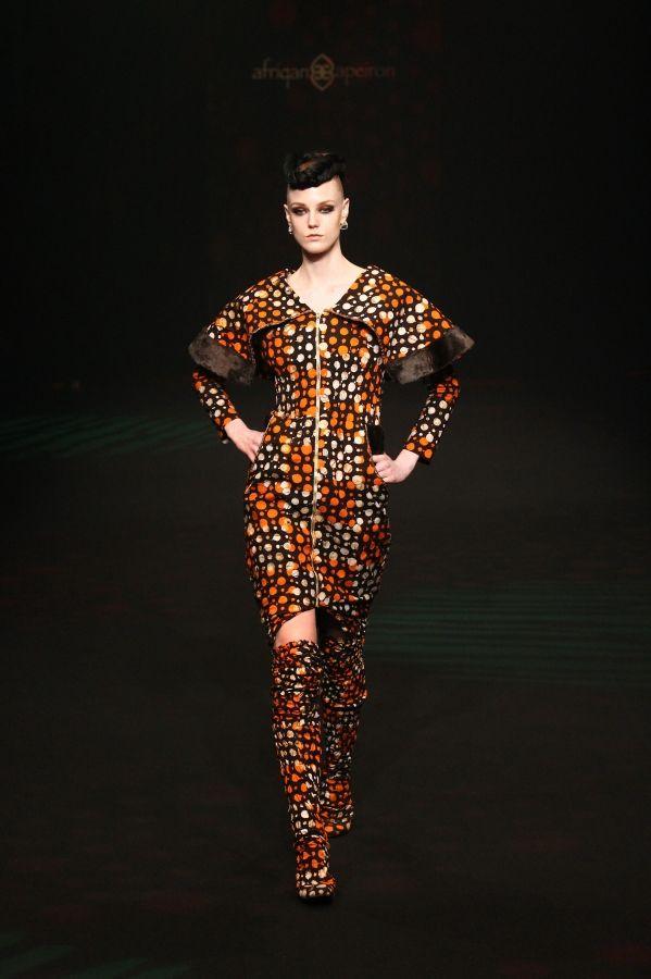 AFRIQAN APEIRON AW 2014 | Mercedes-Benz Fashion Week TOKYO