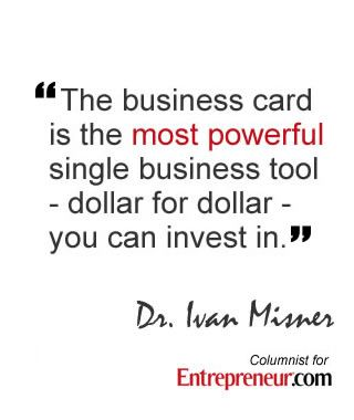 Powerful business quote and business advice so many business cards powerful business quote and business advice so many business cards are boring httpmisskrizia reheart Choice Image