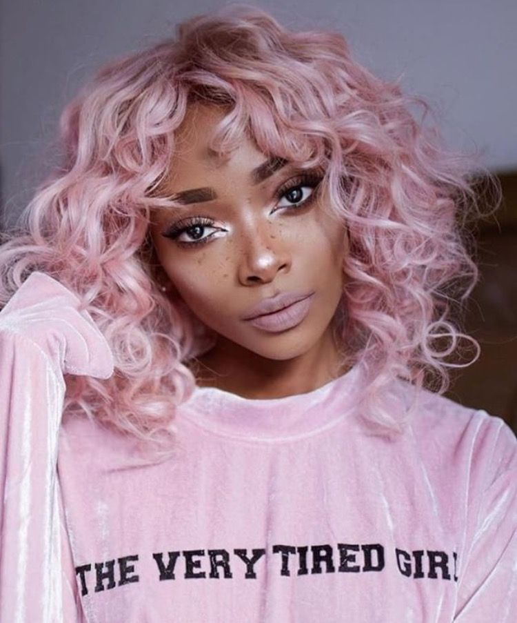 I Just Really Want This Shirt Curly Hair Styles Pastel Pink Hair Hair Styles