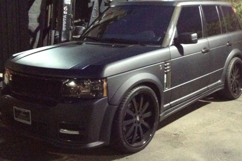 flat black range | Cars | Autos, Carritos