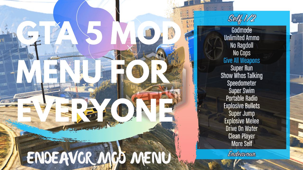 How To Install Best Gta 5 Mod Menu With Download Link And Proper Tutorial Free Modding For Pc Version Of Grand Theft Auto 5 Get Endeavor Gta 5 Mods Gta Gta 5