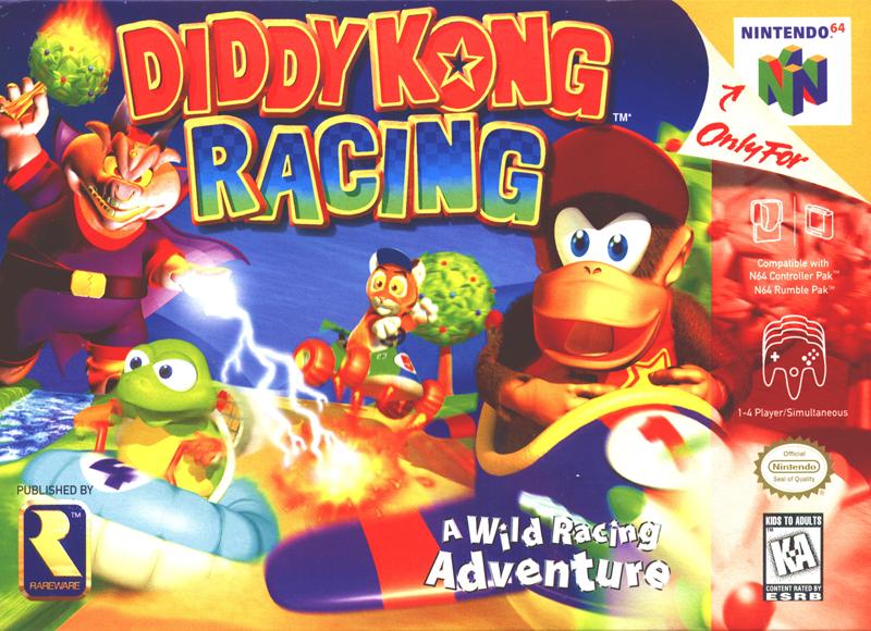 diddy kong racing nintendo