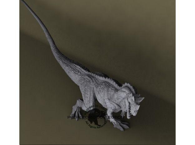 Ceratosaurus nasicornis 3d printed Ceratosaurus nasicornis scale model. ©2012-2014 RareBreed